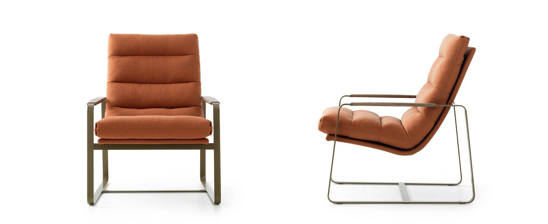 Design Armchair Indra By Leolux - Fauteuil designer