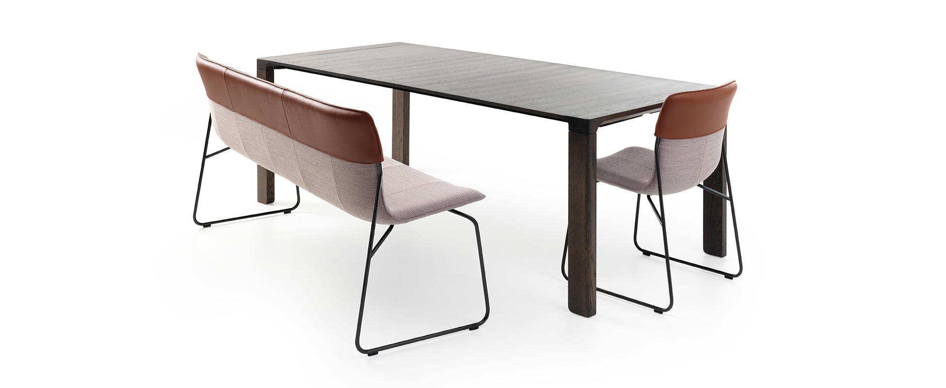 Design Dining room bench Didore by Leolux